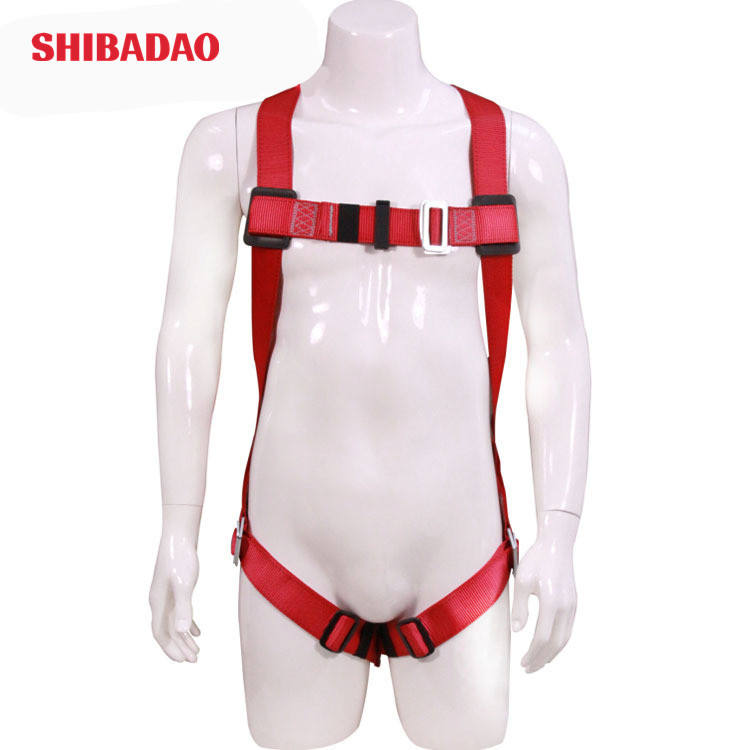 Customized 100%Polyester 3-point Safety Full Body Harness