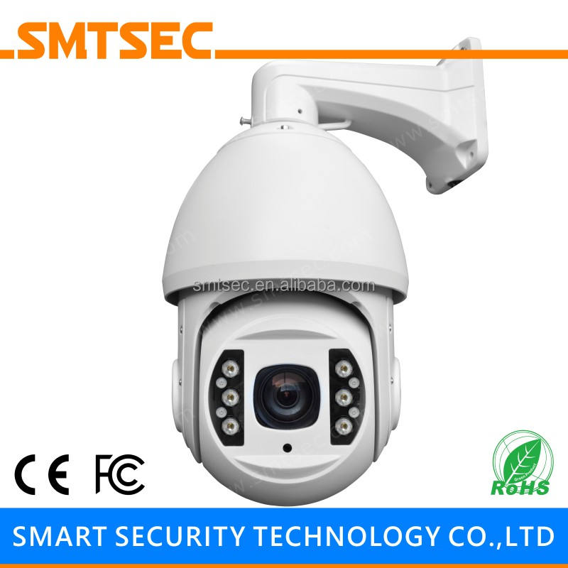 18X Optische Zoom Waterdichte 5MP 6 Ir Led 150 M H.265 Onvif Outdoor Netwerk Beveiliging Speed Dome Ip Ptz Camera (SIP-PTZ06-5MP)