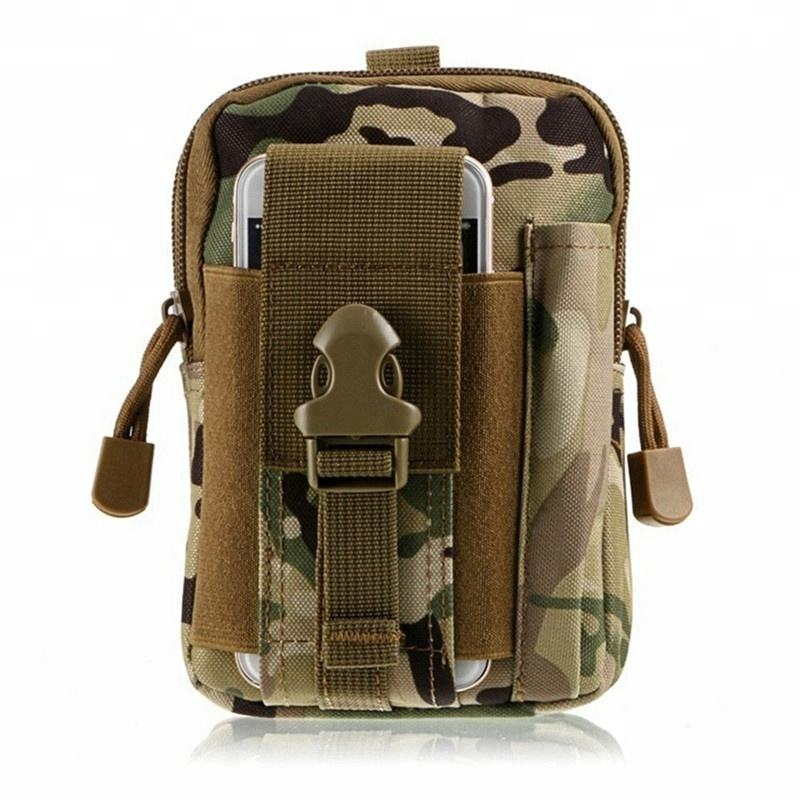 High Quality Waterproof Casual Waist Pack Small Funny Pack Belt Bag Oxford Cloth Phone Pouch Work Bags Army Military Waist Bags