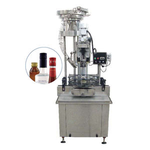 Automatic Electric Ropp Capping Machine For Glass Bottle Aluminum Cap