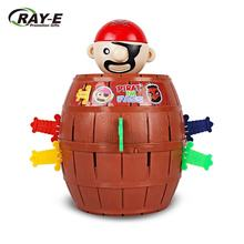 Pirate Barrel Game, Pirate Novelty Toy Bucket Lucky Stab Toys, Adult Kids Pirate Bucket Truck Toy Party Game For Travel Party