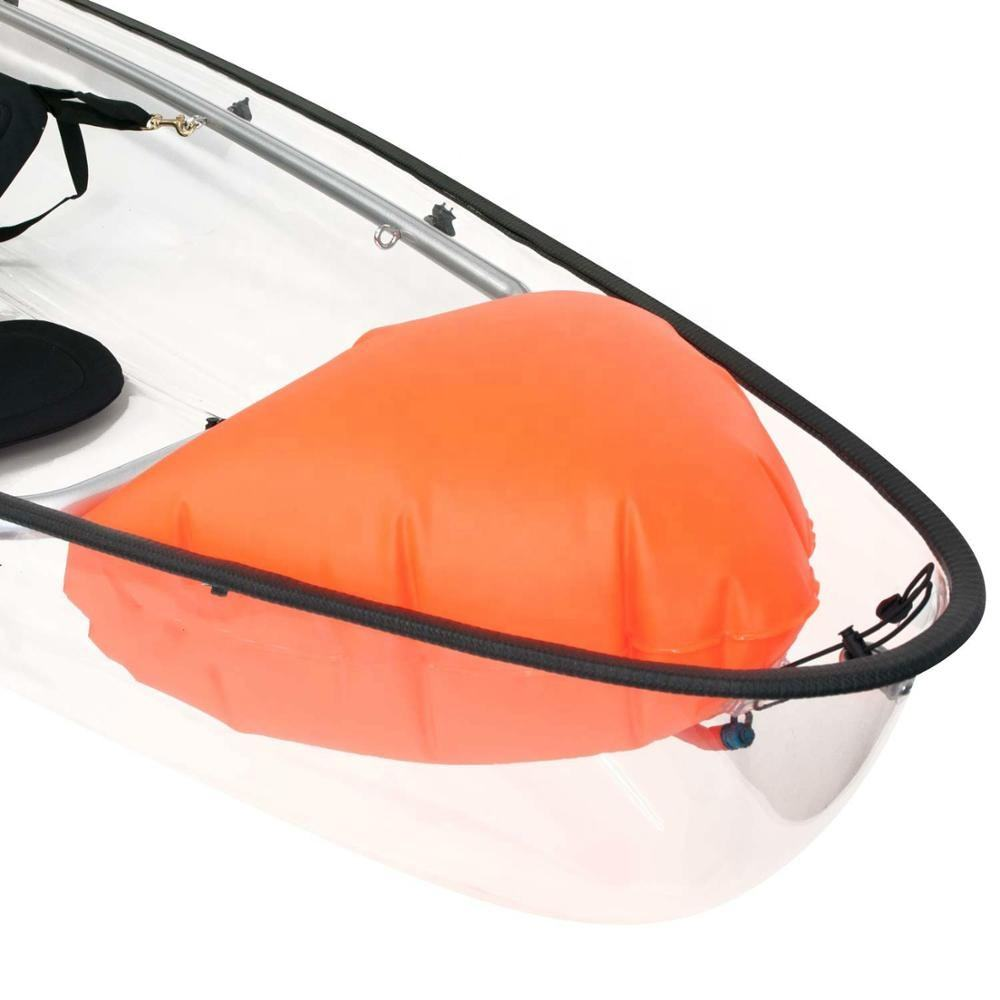 High quality and durable transparent kayak australia with impact resistant