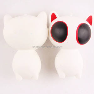 Squishy Kawaii Stress Reliever Slow Rising Big Eyes Cat Squishy Toys for Girl