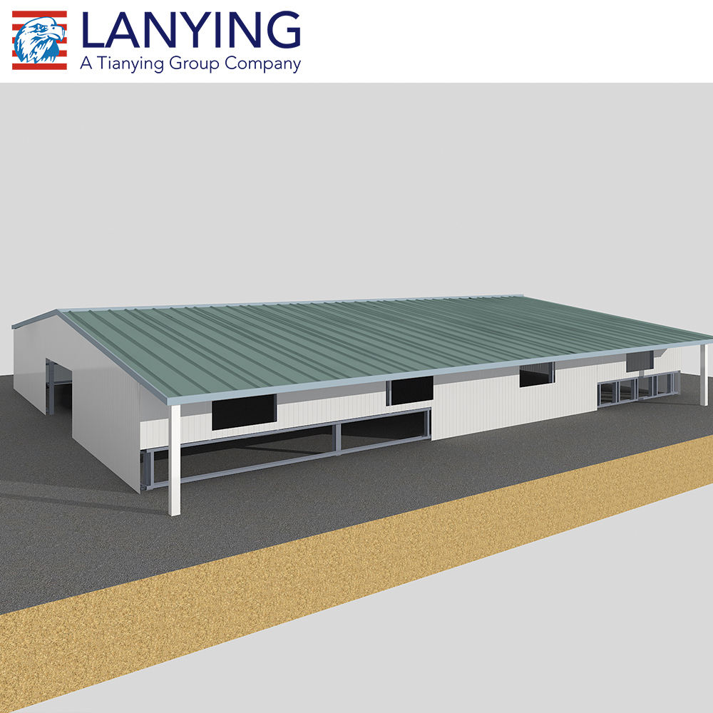 Prefab poultry farm structures for layer chicken farm