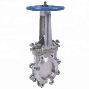 manual Stainless Steel Lug Knife Gate Valve price