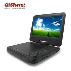 7-15 inch DVD players with TV/game Portable dvd player