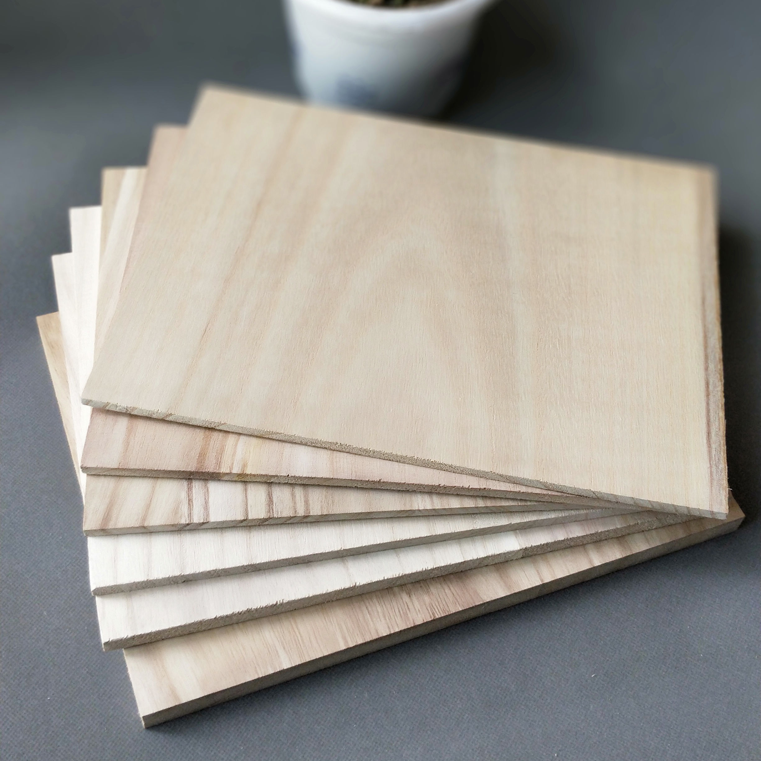 오동 Board 목재 Solid Wood Board 오동 Board