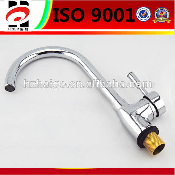 brass hot galvanized kitchen faucet