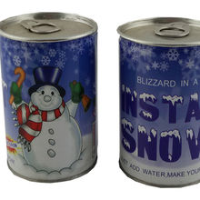 Wholesale Novelty Artificial Snow White, Fake Magic Snow Decoration, Instant Snow Powder