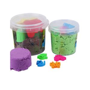500ml small clear color rectangularplastic Candy buckets