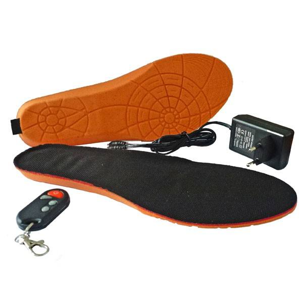 Electric Rechargeable Battery Powered Foot Warmer Heating Shoe Insole Ski Boot Insole For Winter Outdoor Sport