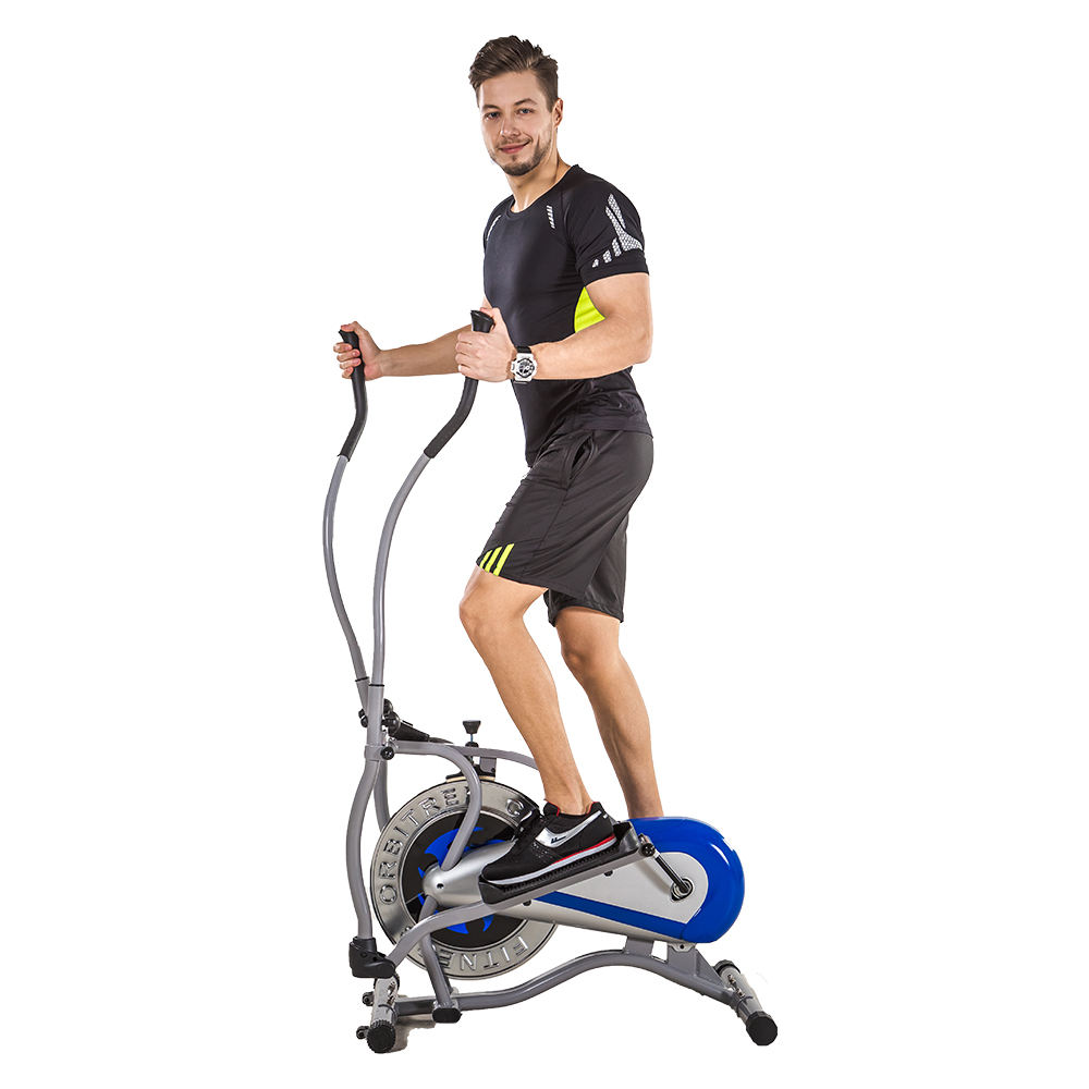 Body Fitness Equipment Magnetic Elliptical Cross Trainer Indoor Exercise Bike