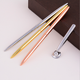 Hot Classic Hotel Pen Rose Gold Metal Ballpoint Twist Roller Ball Point Pen with Custom Logo Business Gift Four Season Hotel Pen