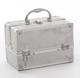 Guaranteed Quality Unique Portable Aluminum silver professional beauty box makeup vanity case