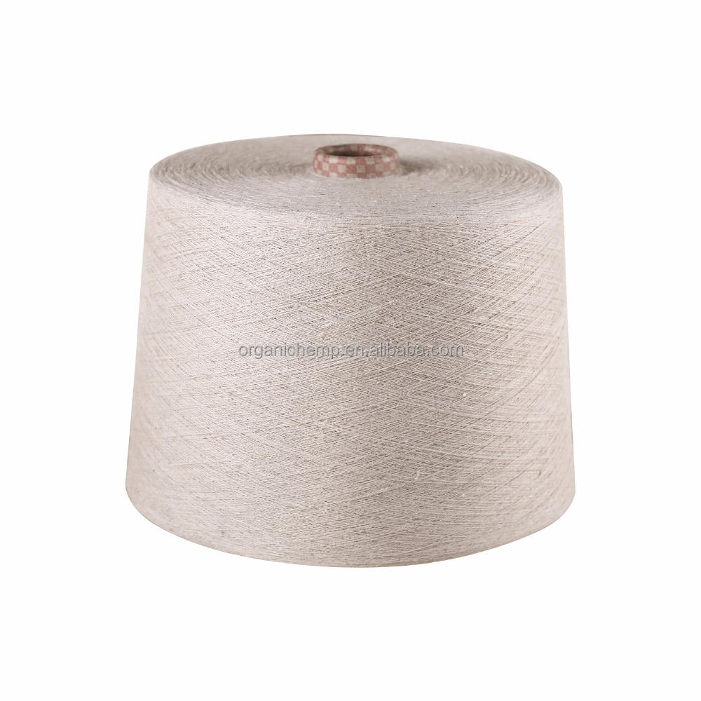 100% Organic Linen Yarn 13.5Nm for clothing