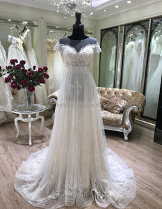 2018 NEWEST casual beach wedding dresses pictures bridal gown