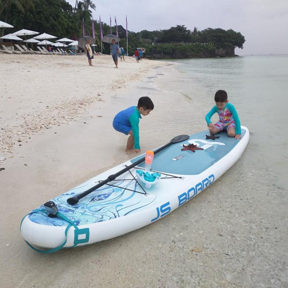 JS New Design High Quality inflatable SUP paddle board inflatable stand up paddle board for sale