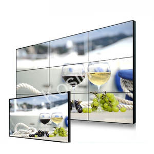 Video Wall solutions digital Display Screen manufacturers 3.5mm 65 inch ultra Narrow Bezel seamless 3x3 LCD Video Wall