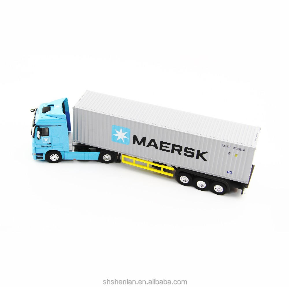 Maersk Truk Model 1:50 Logam Die Cast Alloy Model 31 Panjang