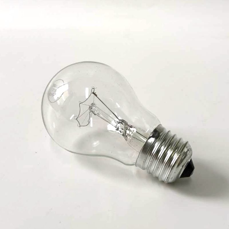 E27 B22 A55 A60 100W 60W frosted and clear incandescent bulb