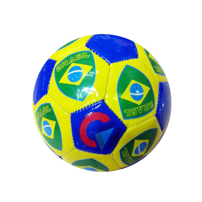 2020 small size 5# froth of PVC machine colorful cheap stitched soccer ball football for promotion for outdoor exercise
