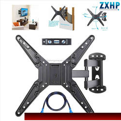 TV Wall Mount Bracket for 32-65 inch TV, Full Motion Articulating Arms with Tilting Swivel, Max VESA 600x400mm and 132 lbs