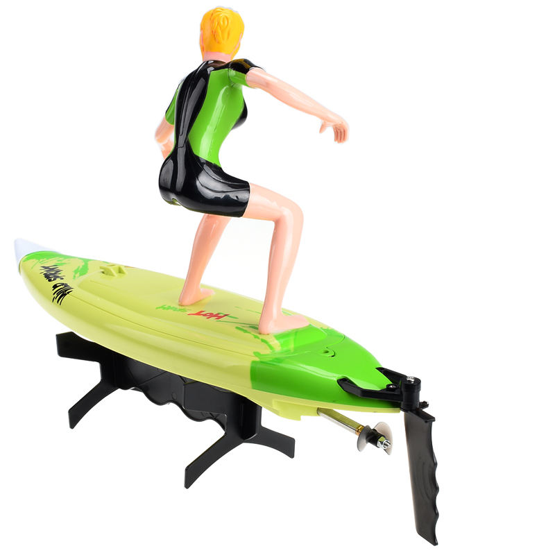 Toys RC China Surfboard Electric Jet Motor Radio Control NQD High Speed Mini R C Surfer RC Boat