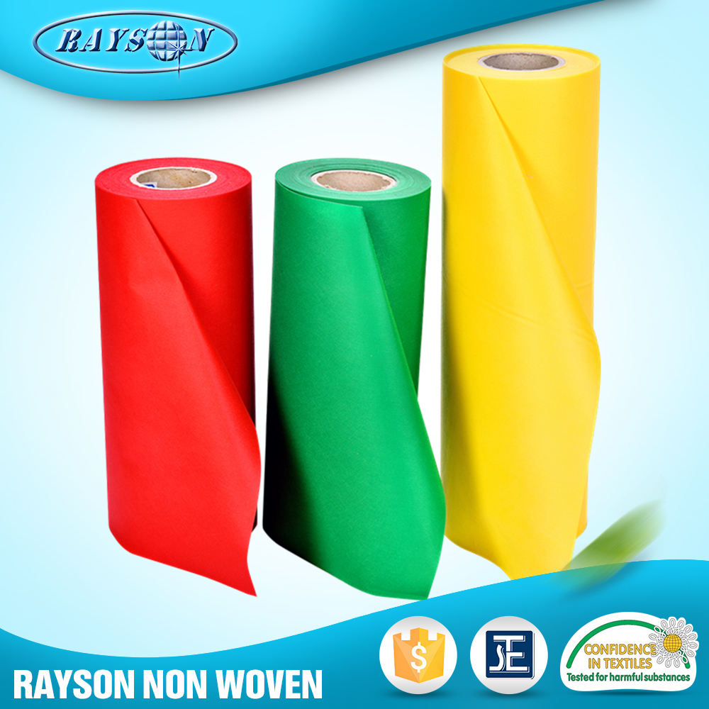 Biodegradable felt polyester spunbond nonwoven sms fabric