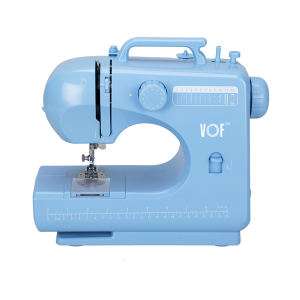 Portable button design LOGO sewing machine