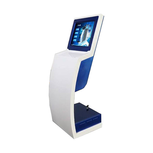 Ticket printer touch screen kiosk with payment modules