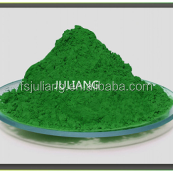 Temperature changing pigment green color changing pigment powder