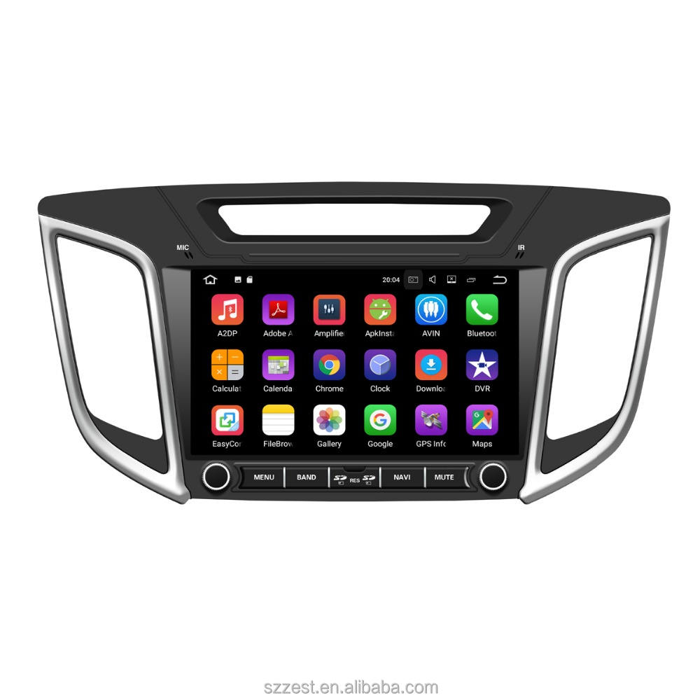 "9""inch 2 Din android 7.1 car dvd gps player For Hyundai IX25 CRETA 2014 2015 2016 stereo navigation car radio audio video player"