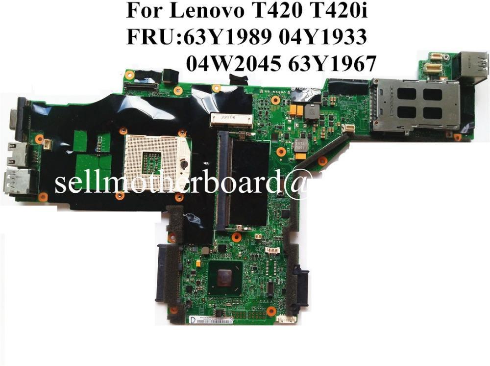 IBM Lenovo T420 T420i Motherboard 63Y1697 System Board