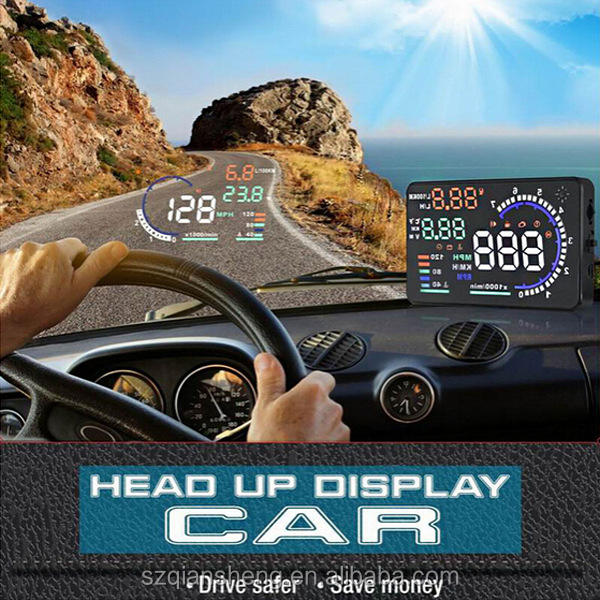 Auto projector HUD head up display snelheid display auto hud display