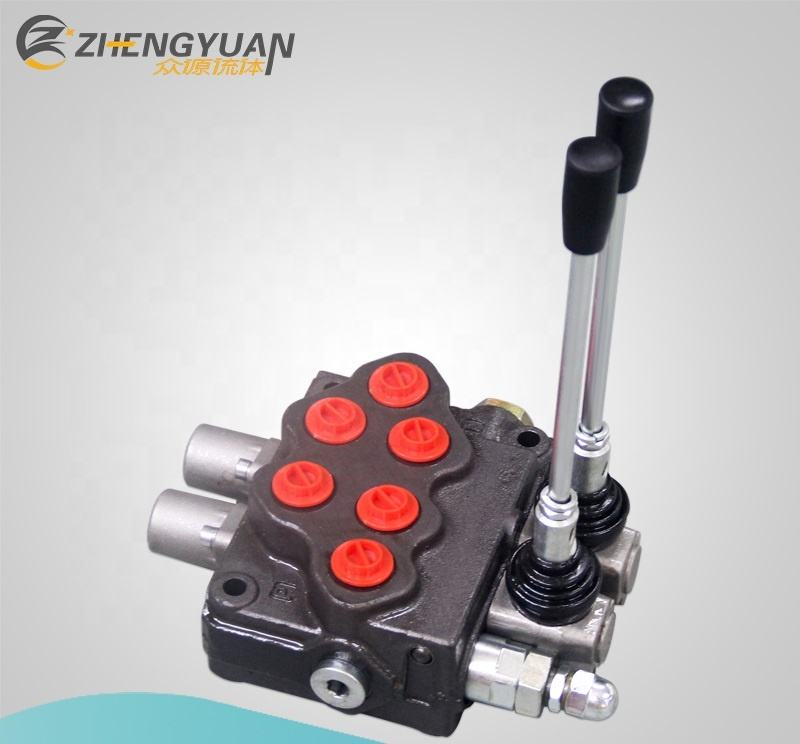 Hot Sales 45LPM Flow Rate SD5 Hydraulic Monoblock Directional Oil Control Valve Manual Control Valves