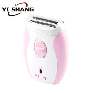 Professional Epilator Pink Rechargeable Electric Lady shaver for ladies