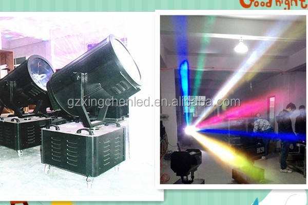 Outdoor Sky multi Beam Color search rose light / Sky rose search beam light /5000w sky rose search light