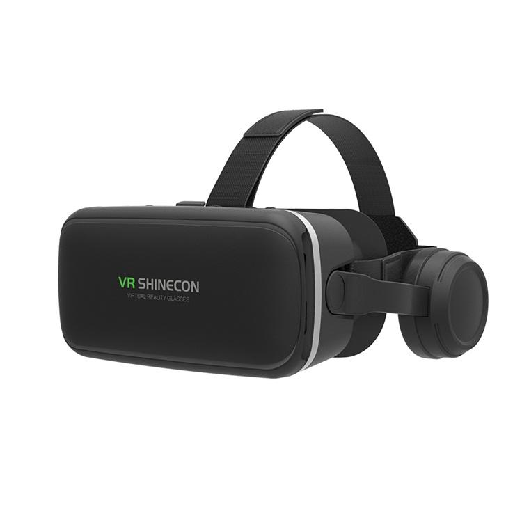 2019 Factory price SHINECON 360 Surrounded Hi-Fi Stereo Headphone 3d virtual reality VR Headset with Free shipping to USA