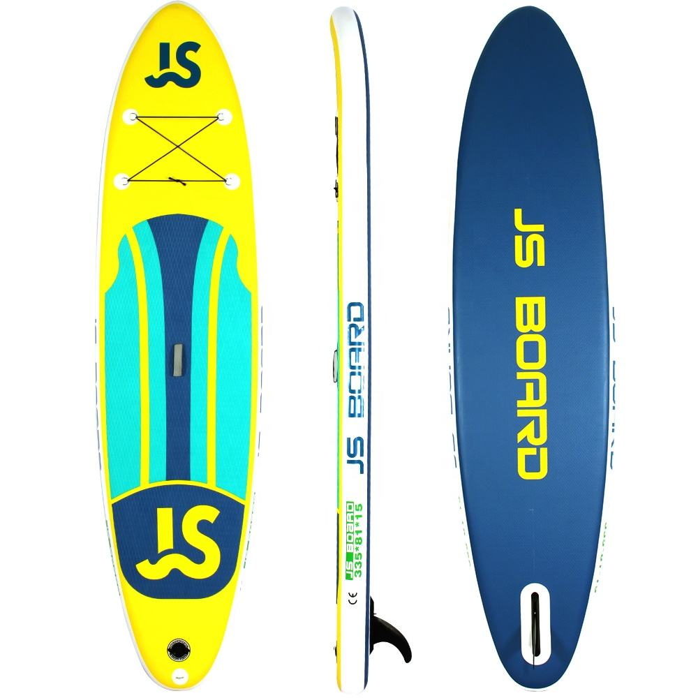335cm All round colorful cheap iSUP CE Certificate inflatable stand up paddle board soft sup boards