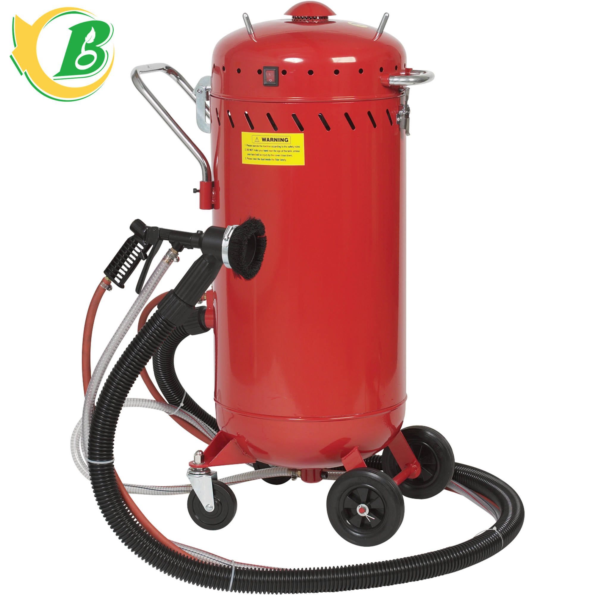CE portable machine de sablage, sablage, sablage pot, 28 Gallons vide machine de sablage à vendre