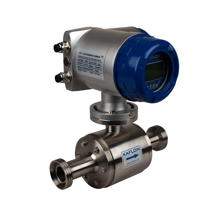 New design magnetic flow meter kent flow meter
