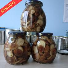Chinese canned letinus edodes shiitake mushrooms marinated with good quality from fresh packed