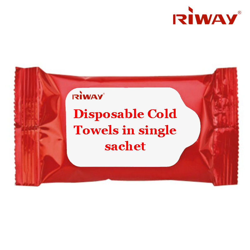 Disposable Cold Towels in single sachet