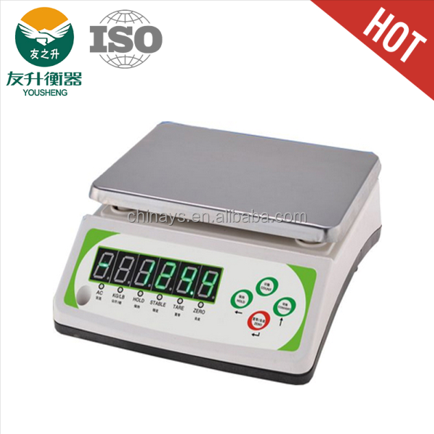 30kg table top scale electronic weighing balance for sale