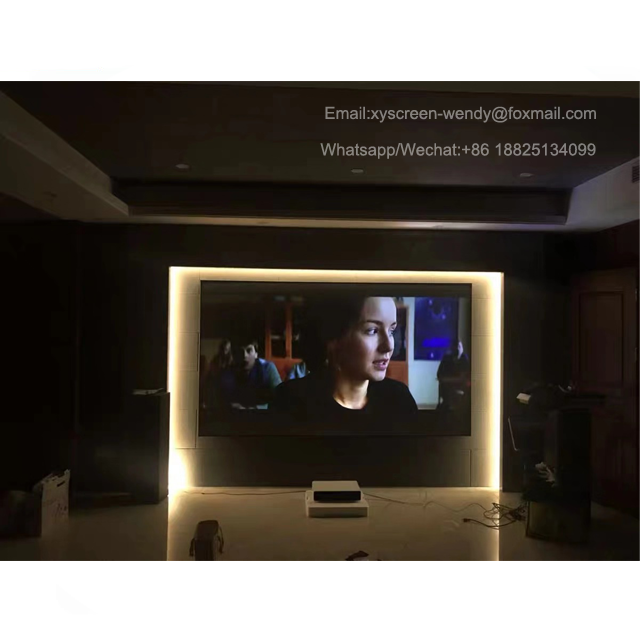 Xiaomi Wemax ONE PRO 3D Home Theater Film Video Proyektor Layar 4 K ALR Ust Layar