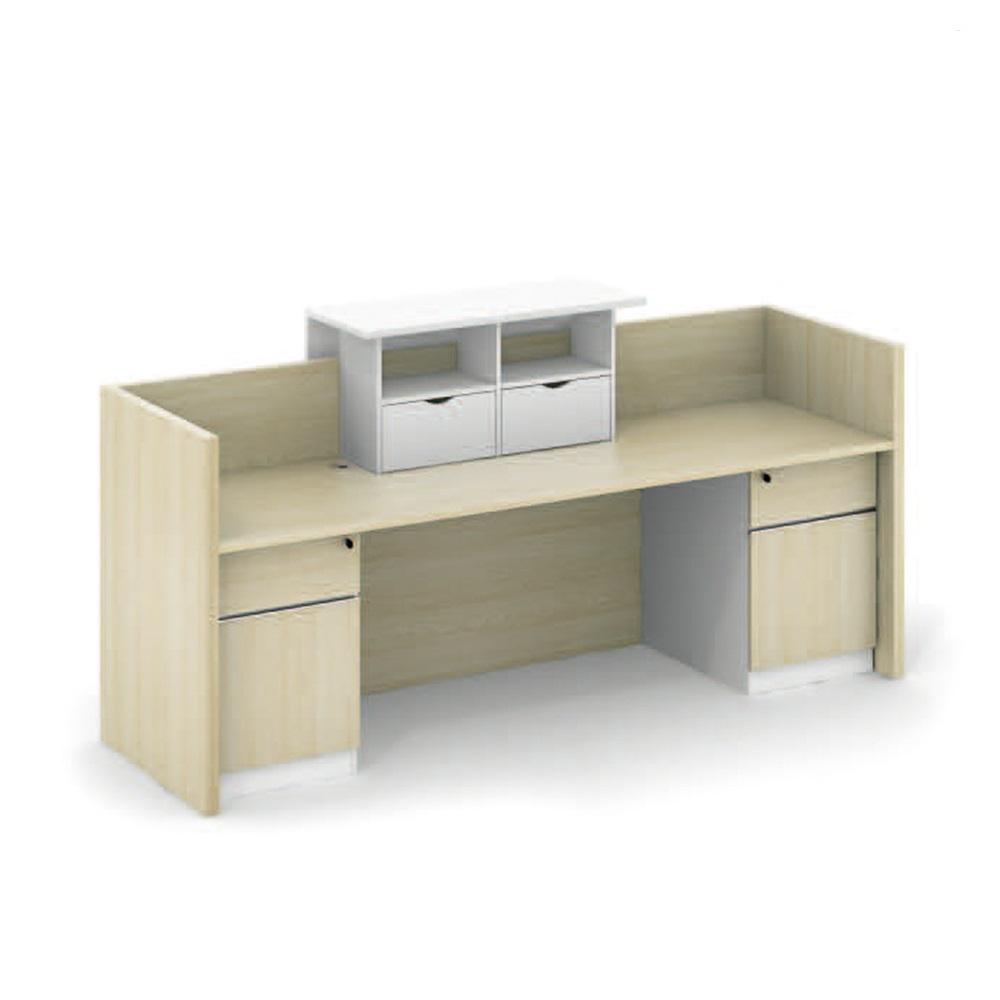 Modern Reception Desks Color Matching Counter Front Desk Counter(QT-01C24)