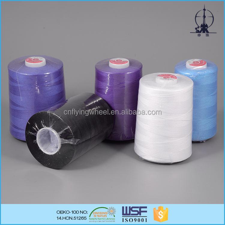 45 s/2 24tex 120 vé polyester trọng lượng nhẹ core chỉ khâu người mua