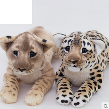 free sample plush leapord toys plush leapord and lion toys lifelike Stuffed toy plush leapord