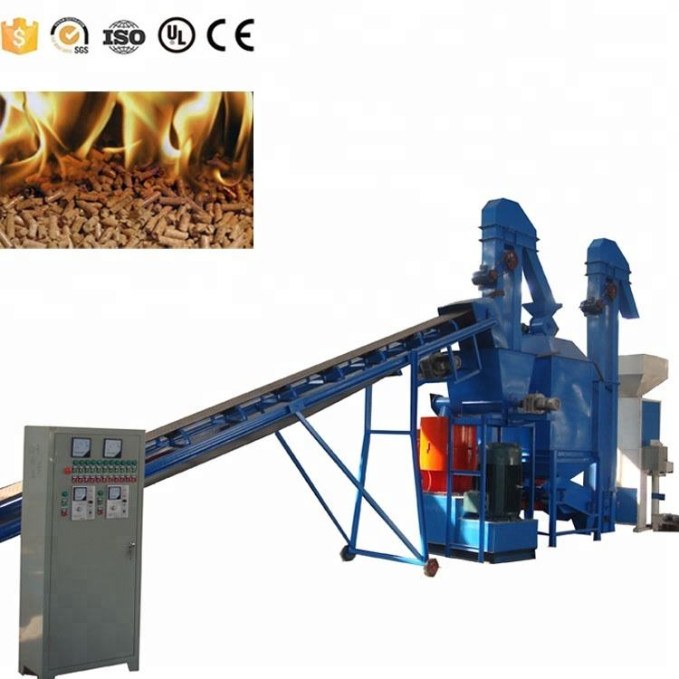 Complete Wood Pellet Production line with Various Capacities Wooden Pellets Making Machine