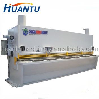 Europe standard stainless steel metal sheet cutting machine / iron plate sheet cutting machine / guillotine shearing machine